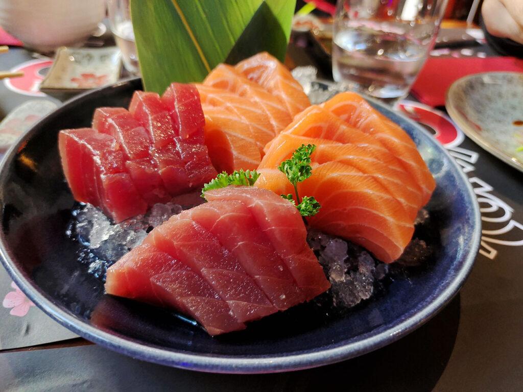 Vivo X51 5G Foto Sashimi Sushi