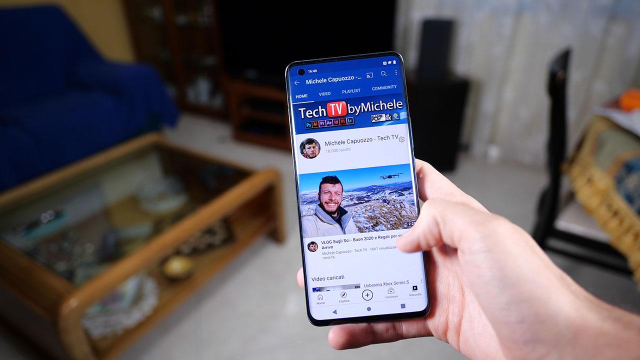 Vivo X51 5G YouTube App