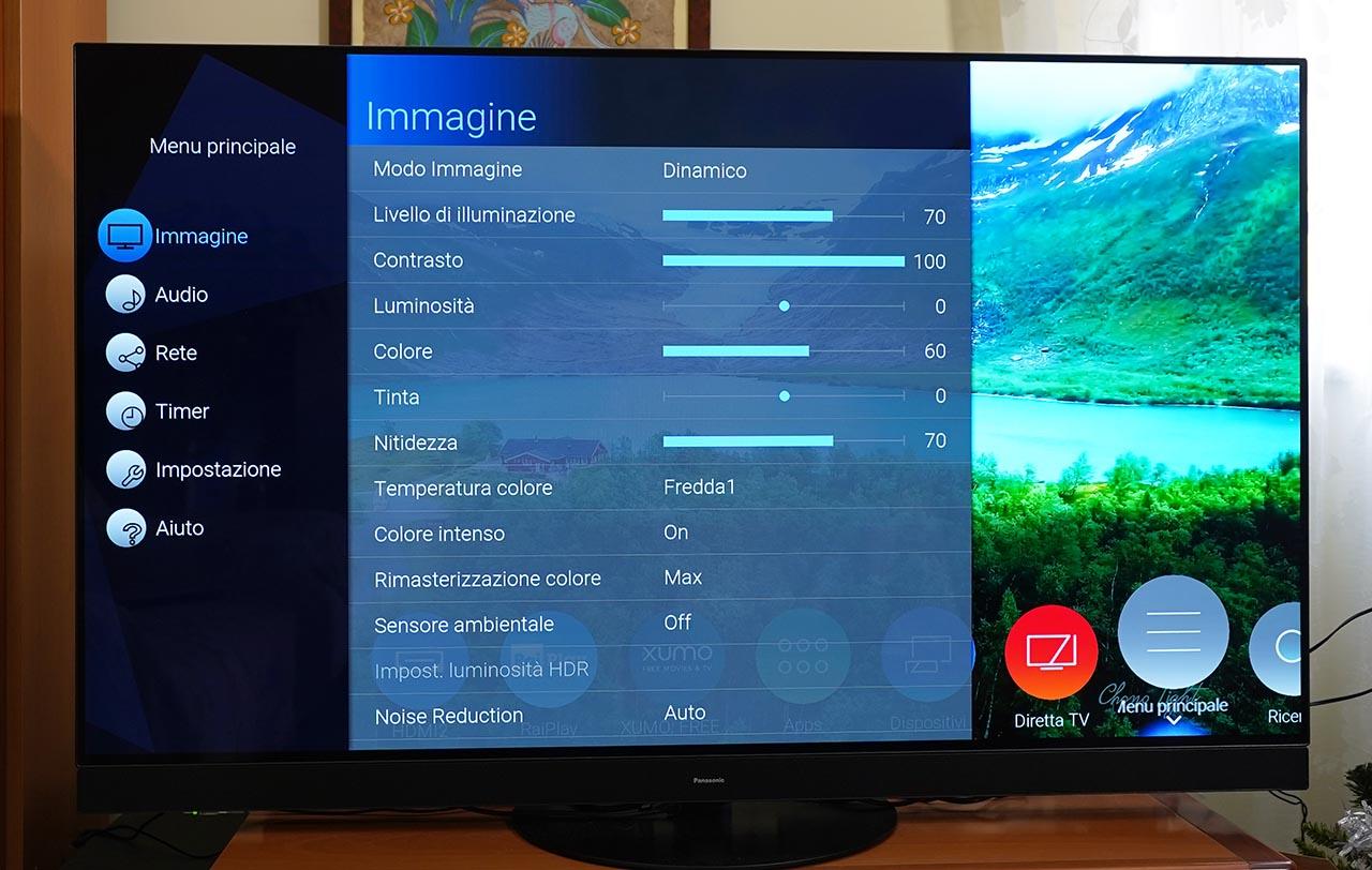 Panasonic HZ1500 TV OLED 4K HDR Immagine