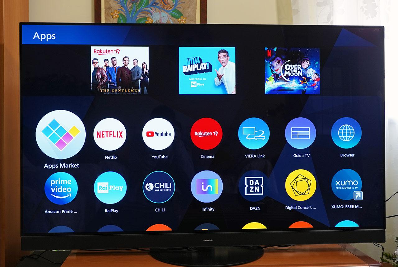 Panasonic HZ1500 TV OLED 4K HDR App