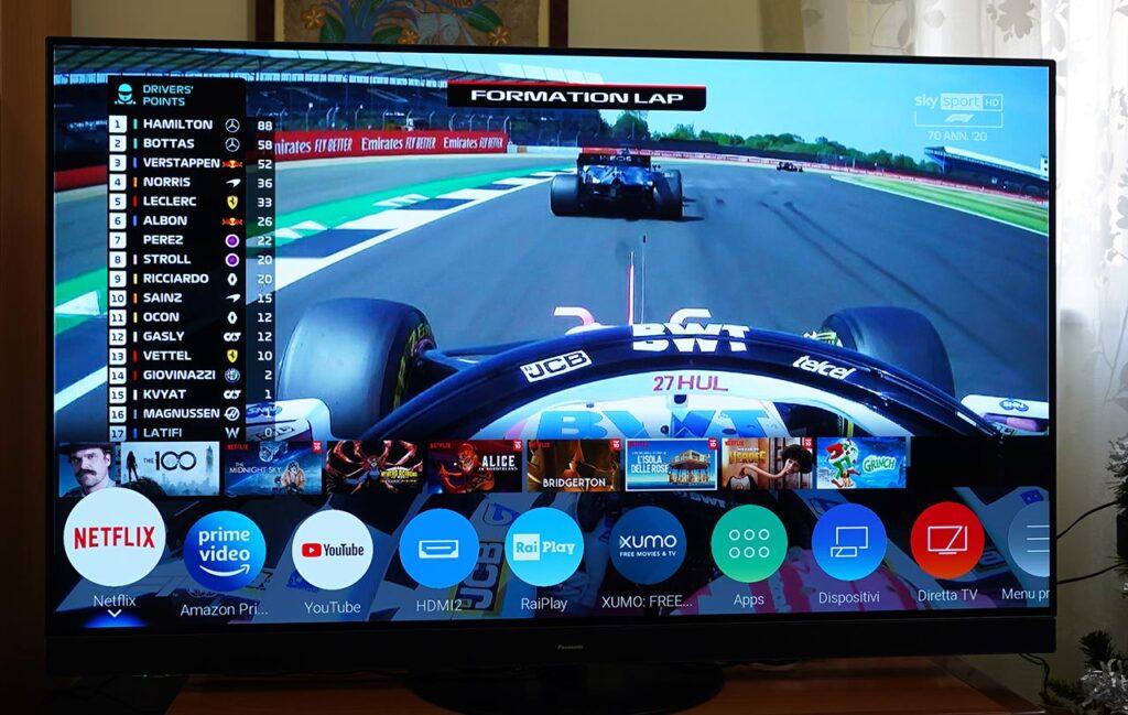 Panasonic HZ1500 TV OLED 4K HDR Formula 1 Smart TV