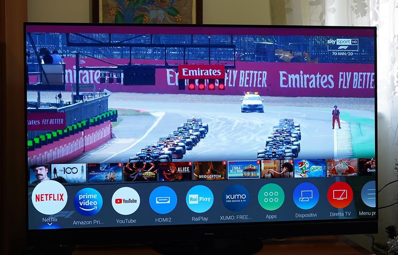 Panasonic HZ1500 TV OLED 4K HDR Menu Smart TV