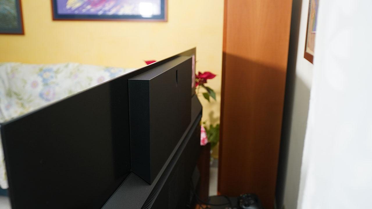 Panasonic HZ1500 TV OLED 4K HDR Subwoofer Audio Posteriore