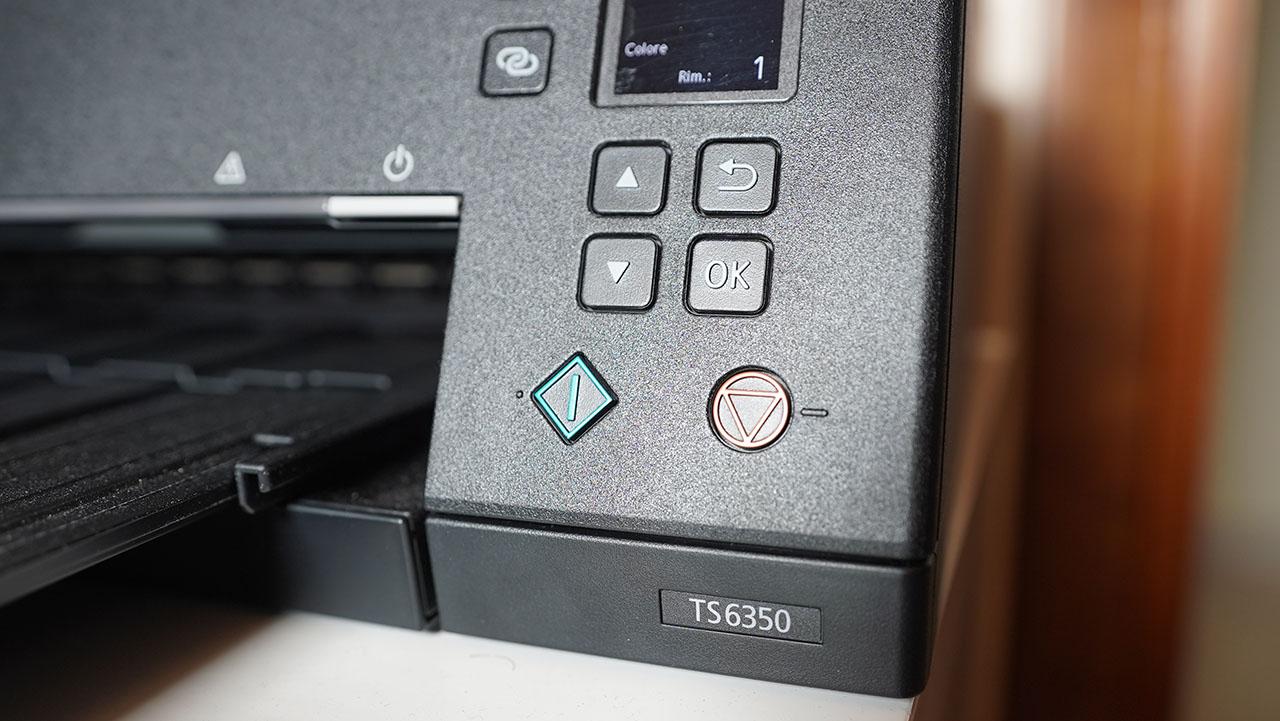 Canon TS6350 Pulsante Fotocopiatrice Copia