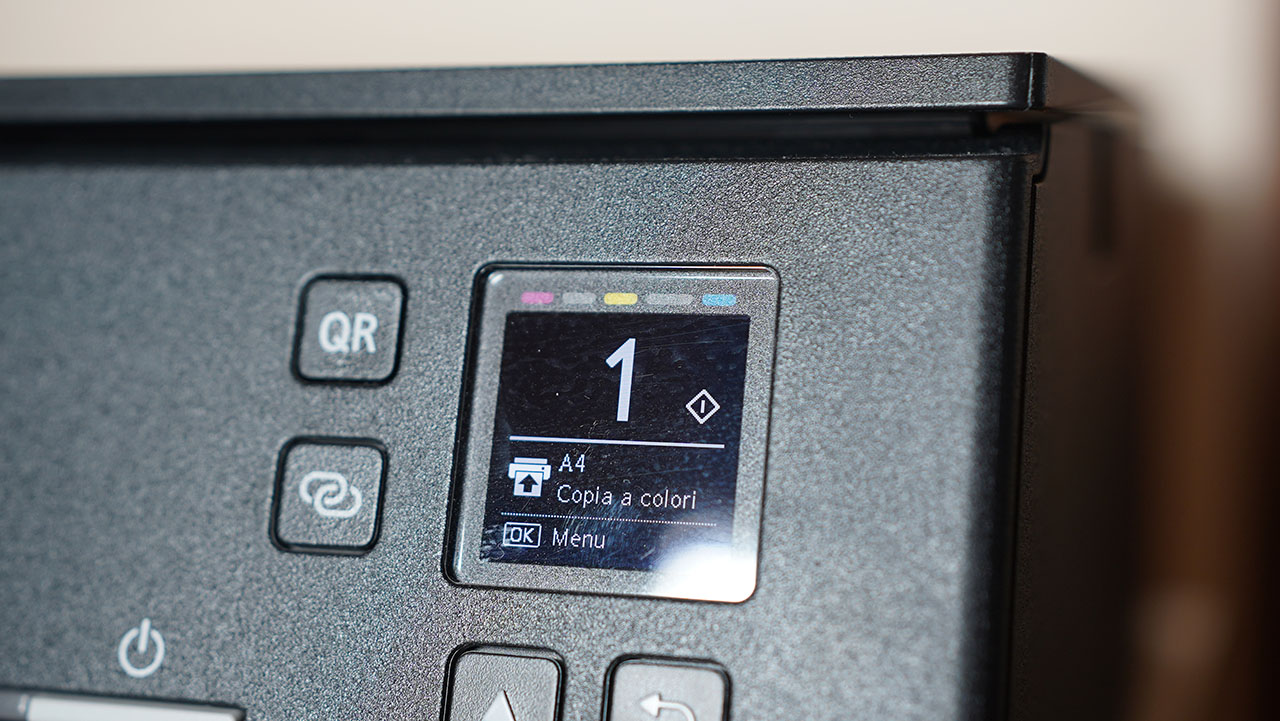 Canon TS6350 Schermo OLED