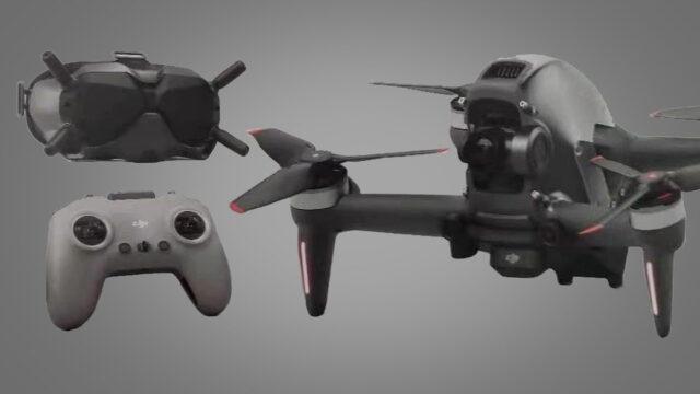Drone DJI FPV Combo Visore e Radiocomando