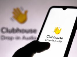 Clubhouse Android Logo Screen