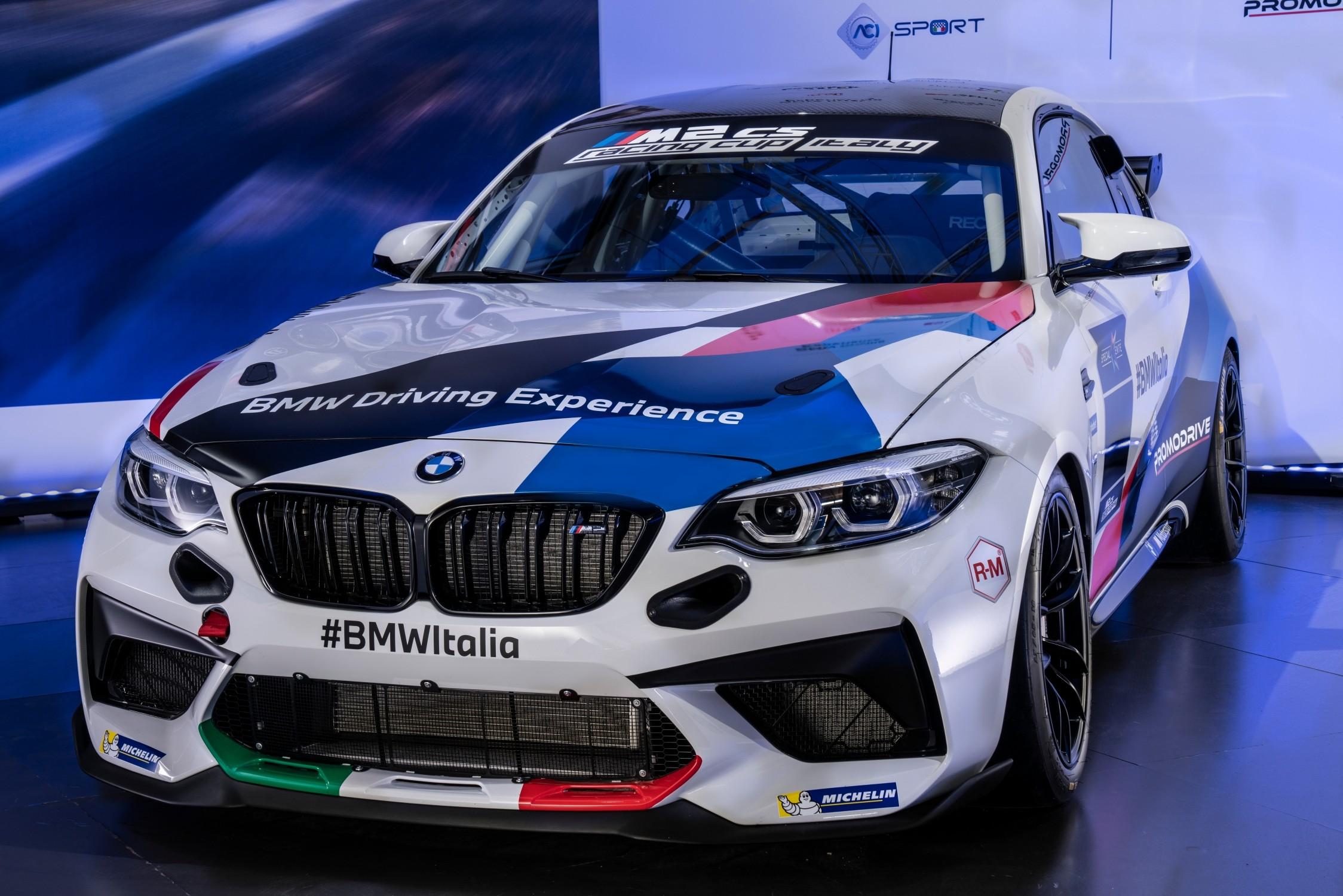 BMW M2 CS Racing Cup Italy sta per iniziare
