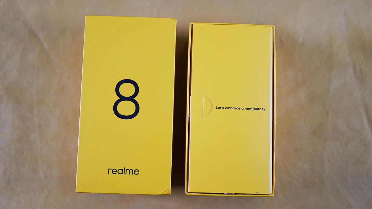 Realme 8 Confezione Unboxing
