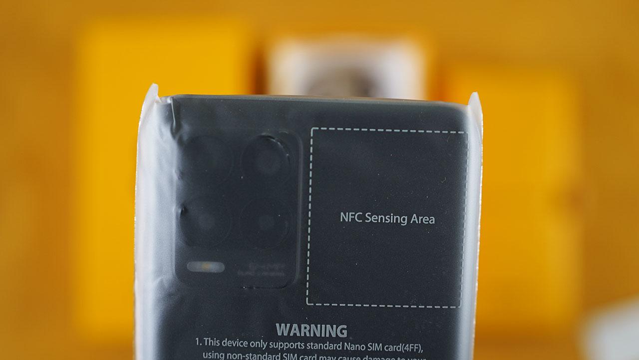 Realme 8 NFC Chip
