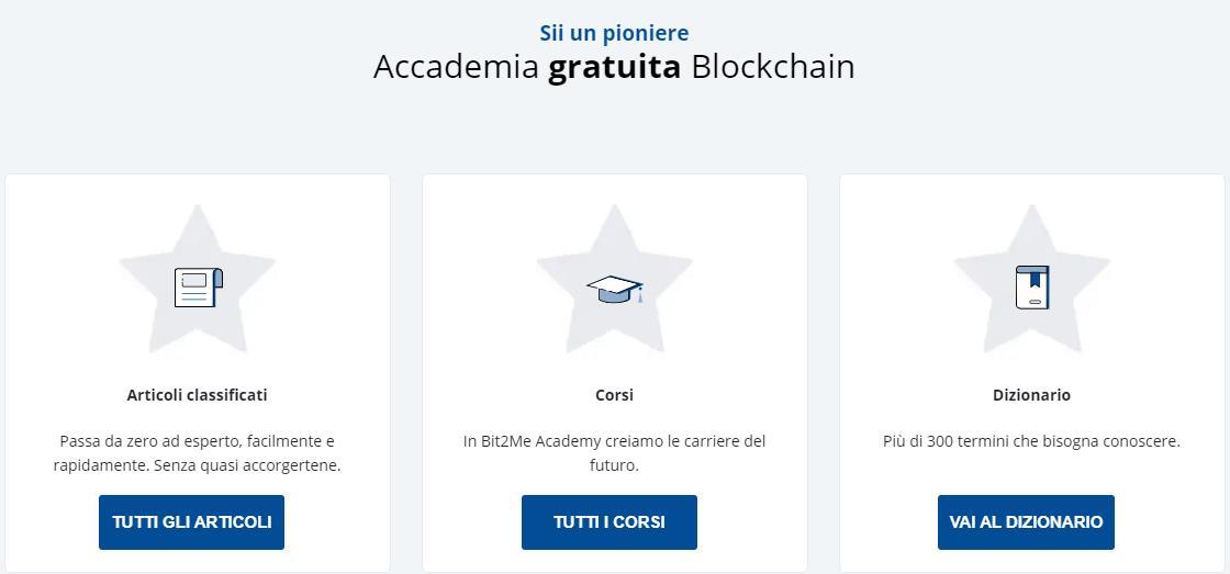 Bit2Me Academy Corsi Notizie