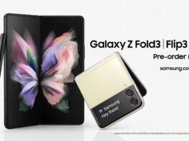 Samsung Galaxy Z Fold 3 e Galaxy Z Flip 3 Preorder